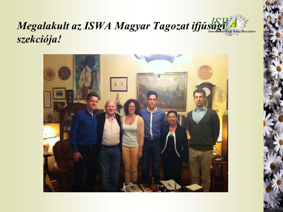 Megalakult az ISWA Magyar Tagozat ifjúsági szekciója!