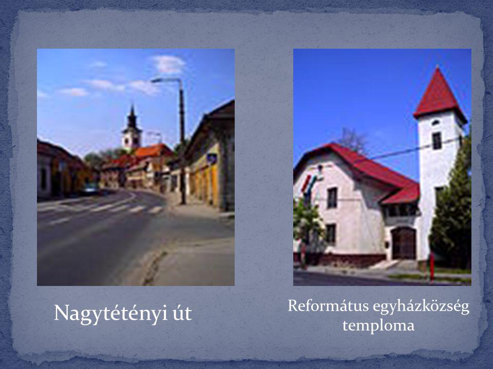 Református egyházközség temploma