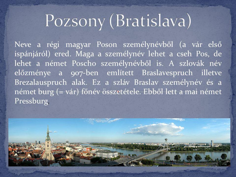 Pozsony (Bratislava)
