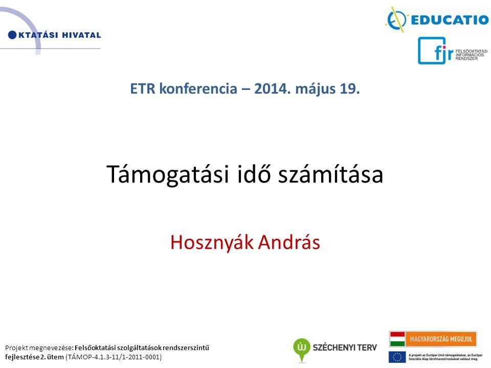 ETR konferencia – 2014. május 19.