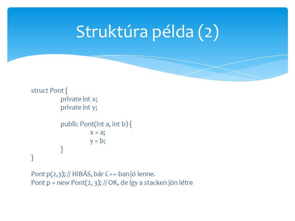 Struktúra példa (2)
