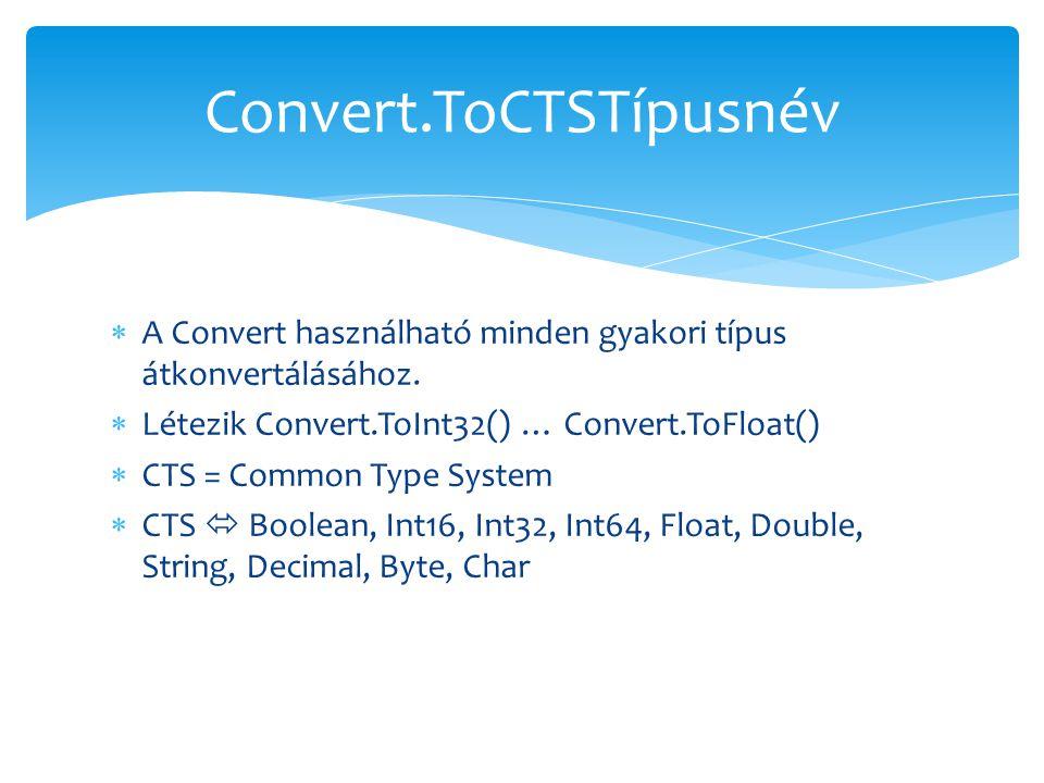 Convert.ToCTSTípusnév