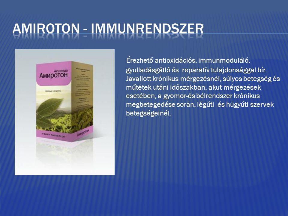 Amiroton - immunrendszer