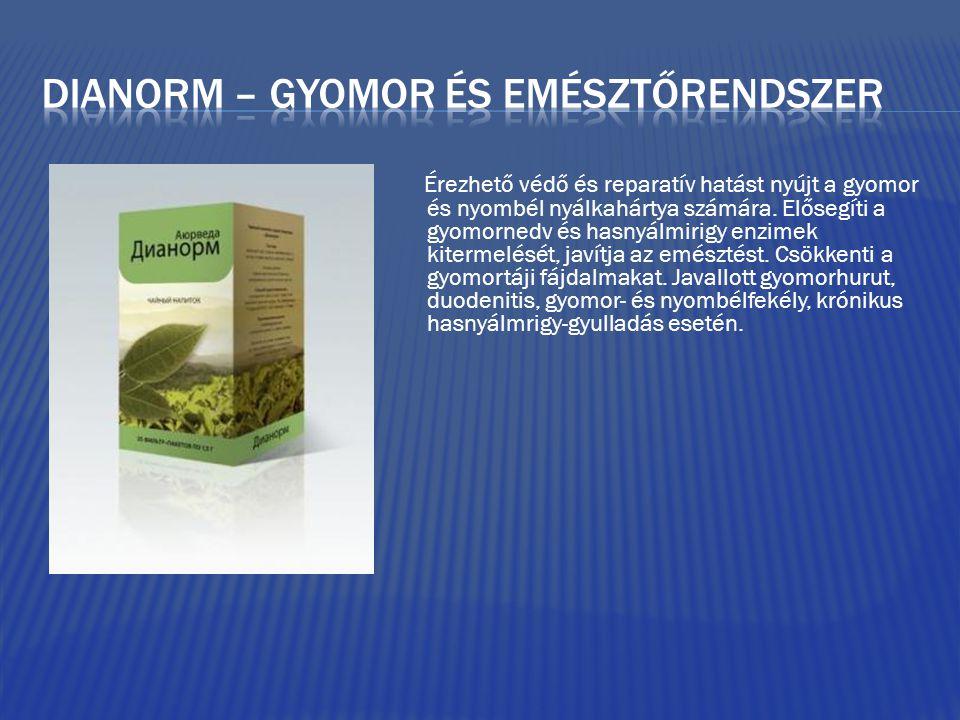 Dianorm – gyomor és emésztőrendszer