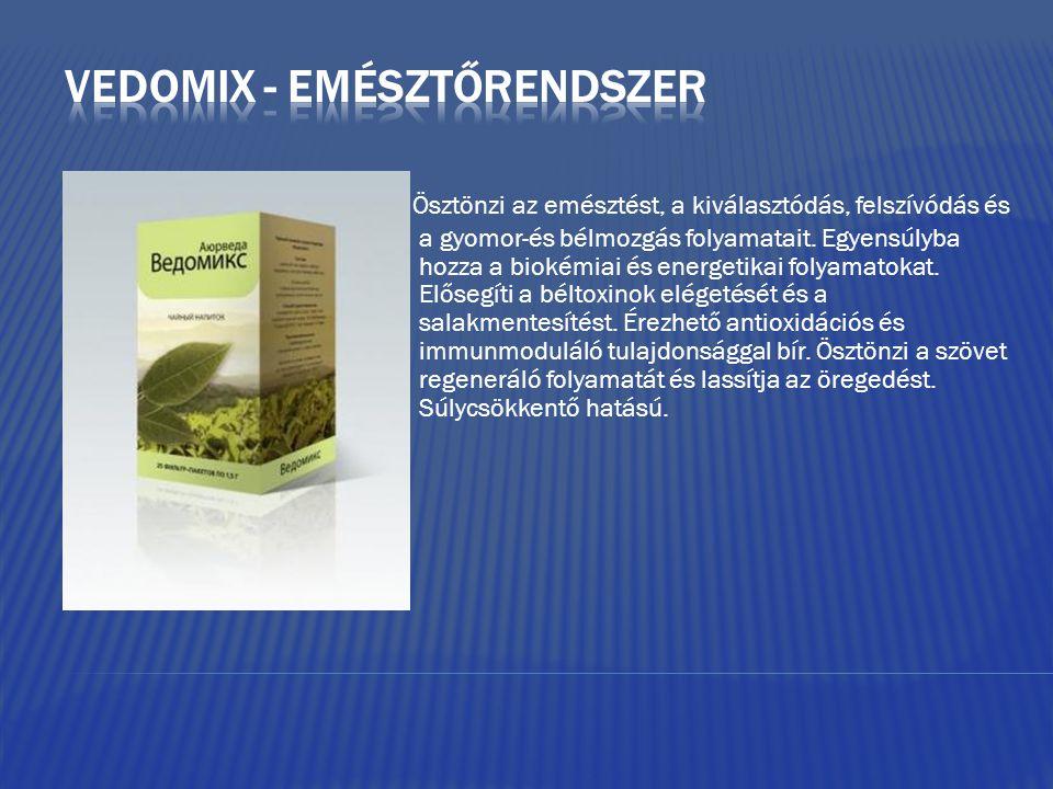 Vedomix - emésztőrendszer
