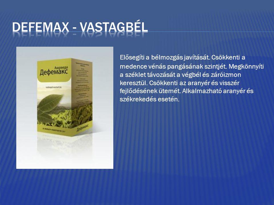 Defemax - vastagbél