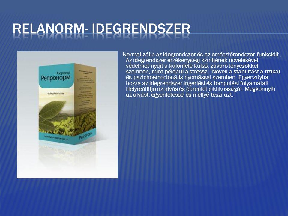 Relanorm- idegrendszer