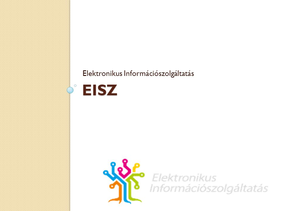 Elektronikus Információszolgáltatás