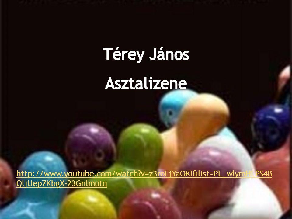 Térey János Asztalizene