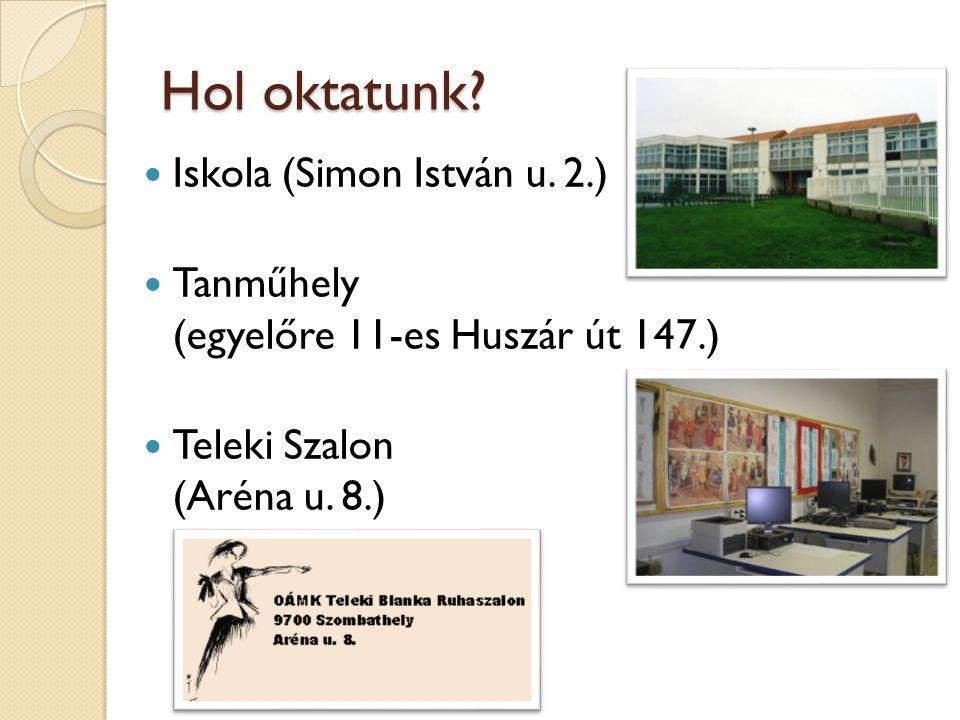 Hol oktatunk Iskola (Simon István u. 2.)