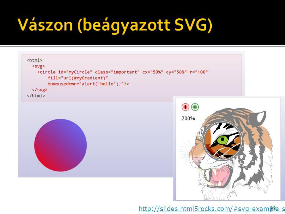Vászon (beágyazott SVG)