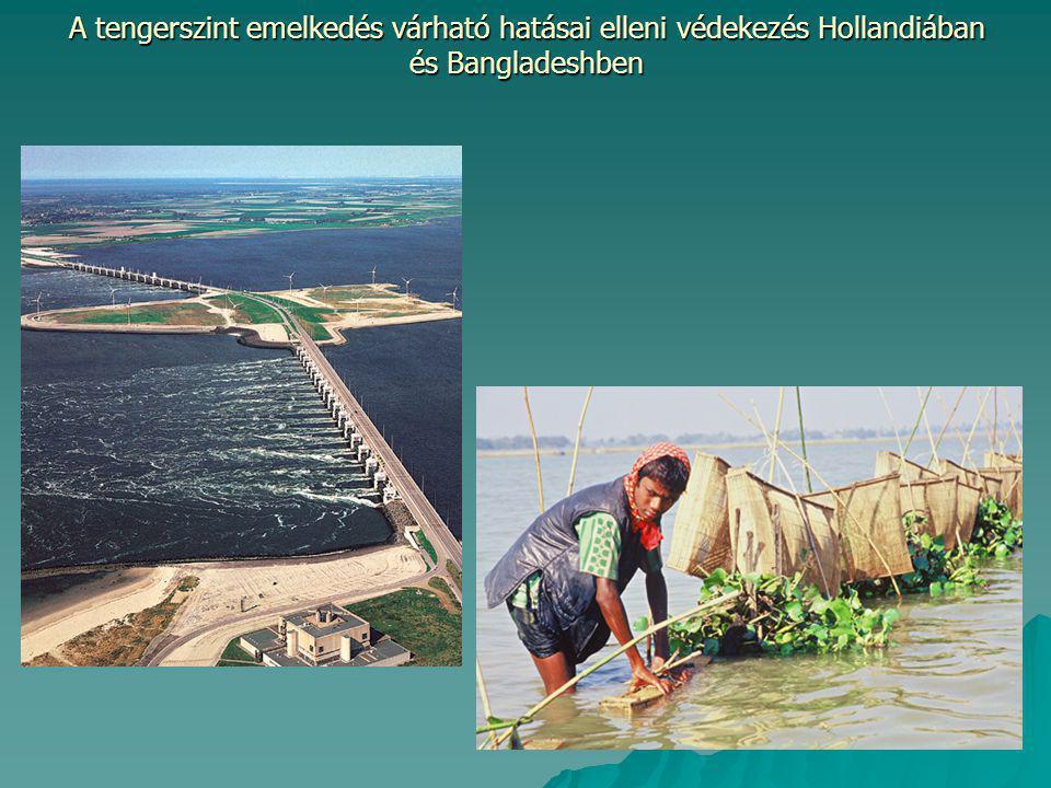 A tengerszint emelkedés várható hatásai elleni védekezés Hollandiában és Bangladeshben