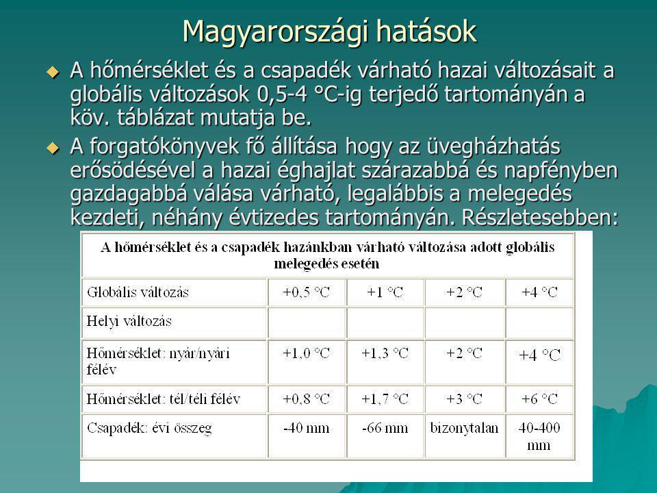 Magyarországi hatások
