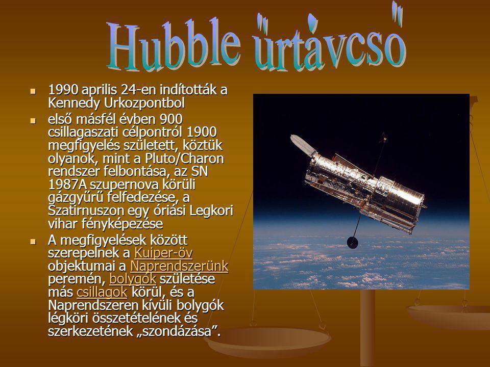 Hubble urtavcso. 1990 aprilis 24-en indították a Kennedy Urkozpontbol.