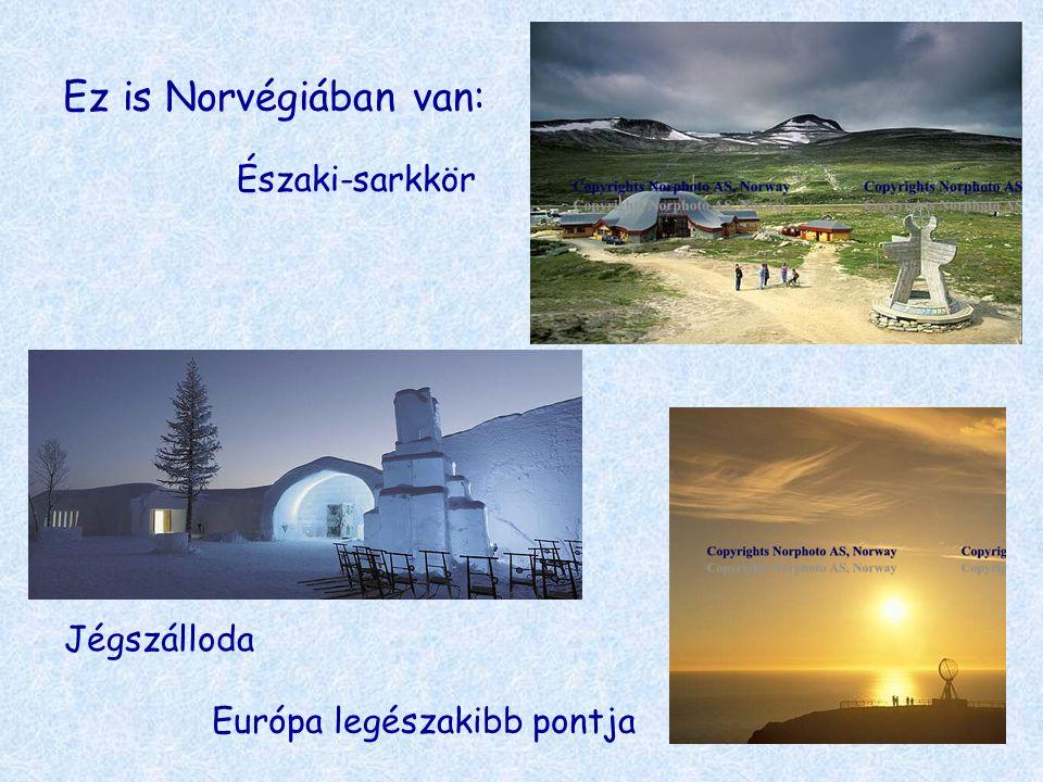 Ez is Norvégiában van: Északi-sarkkör Jégszálloda