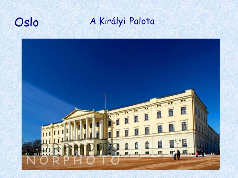 Oslo A Királyi Palota