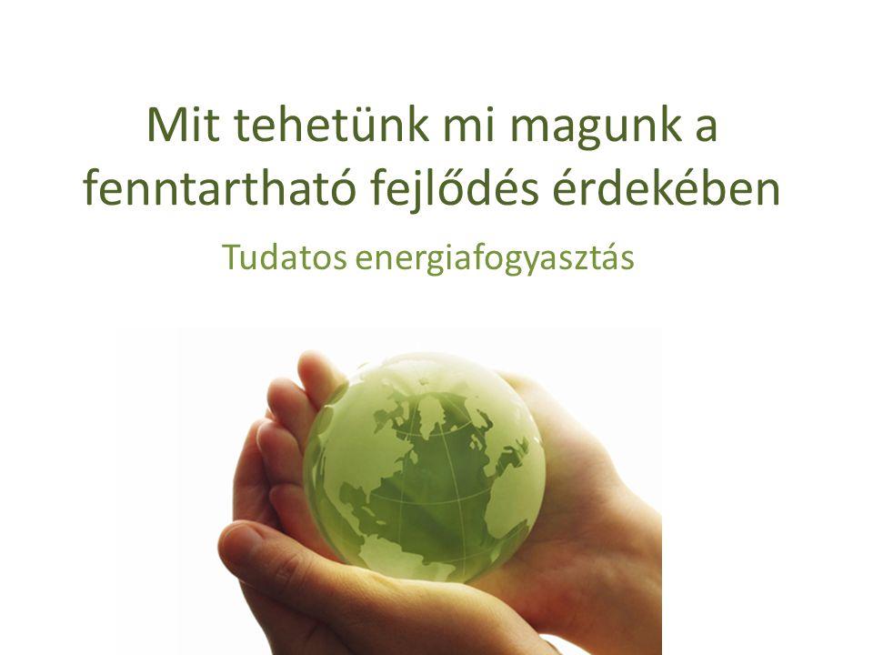 Mit tehetünk mi magunk a fenntartható fejlődés érdekében