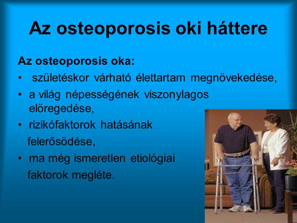 Az osteoporosis oki háttere