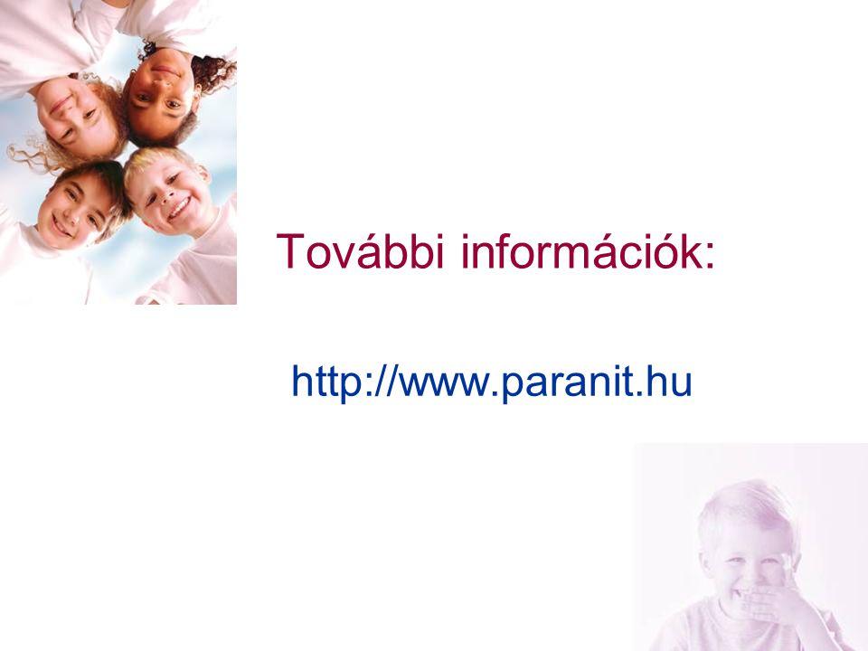 További információk: http://www.paranit.hu