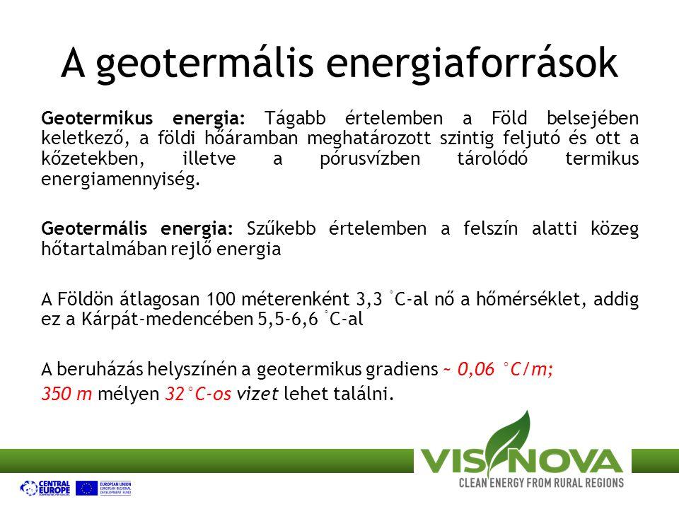 A geotermális energiaforrások