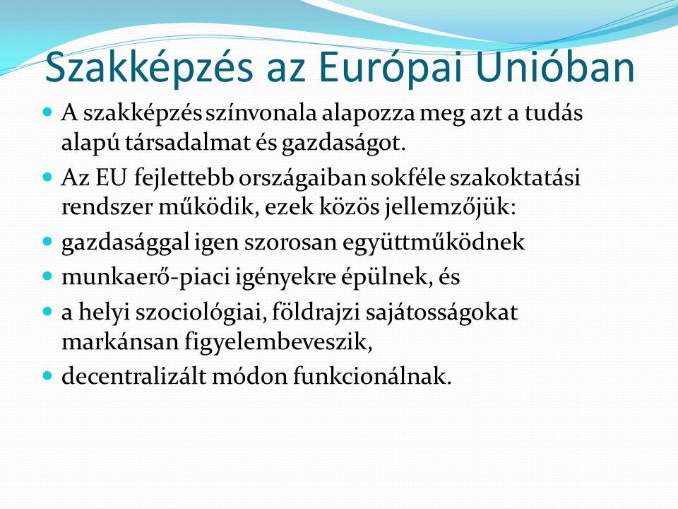Szakképzés az Európai Unióban