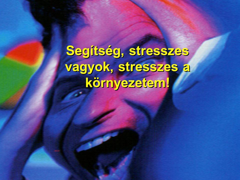 Segítség, stresszes vagyok, stresszes a környezetem!