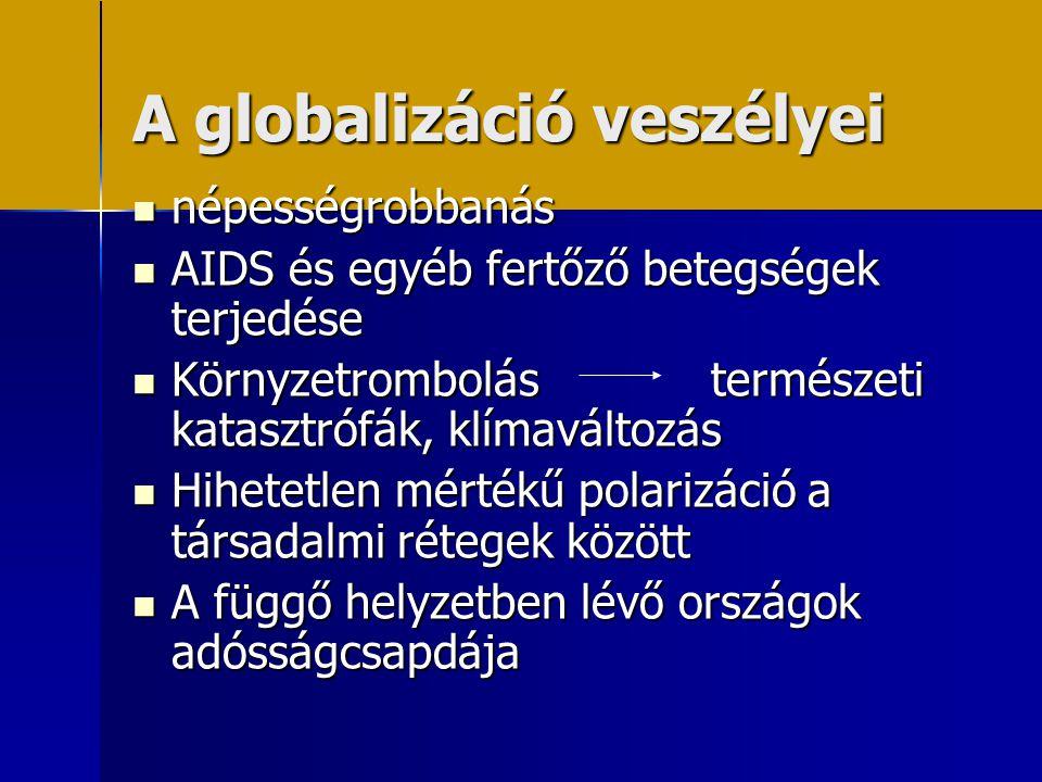 A globalizáció veszélyei