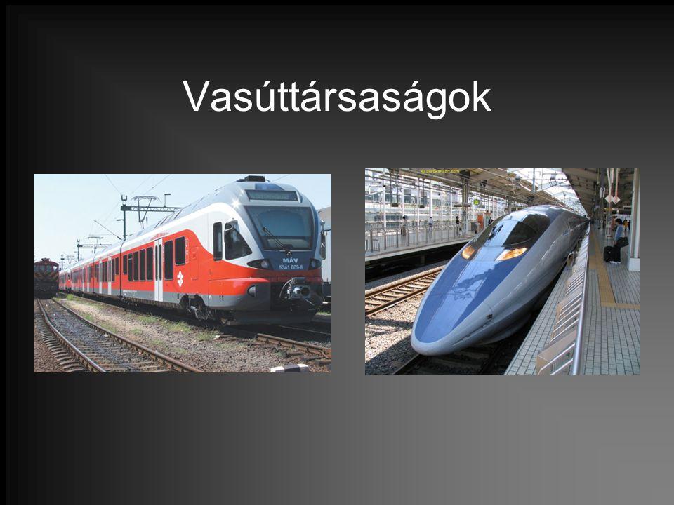 Vasúttársaságok