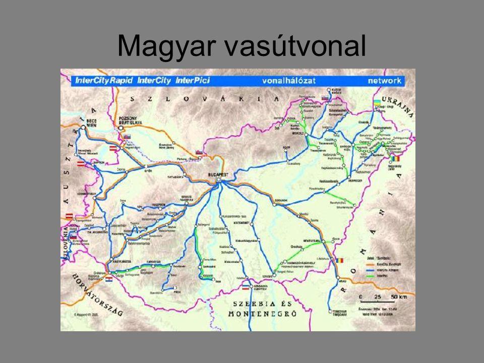Magyar vasútvonal