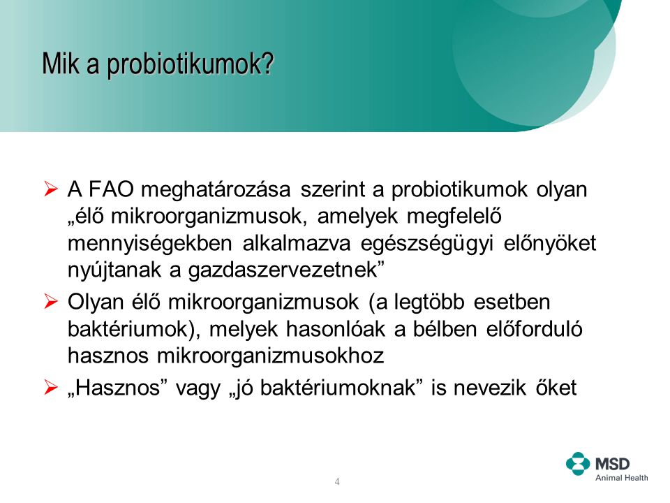 Mik a probiotikumok