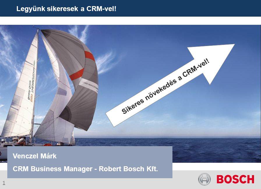 Legyünk sikeresek a CRM-vel!