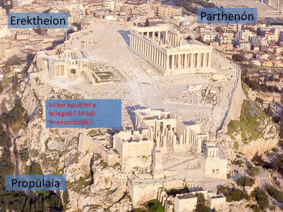 Parthenón Erektheion Propülaia