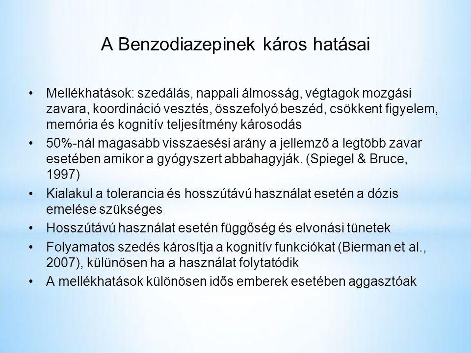 A Benzodiazepinek káros hatásai