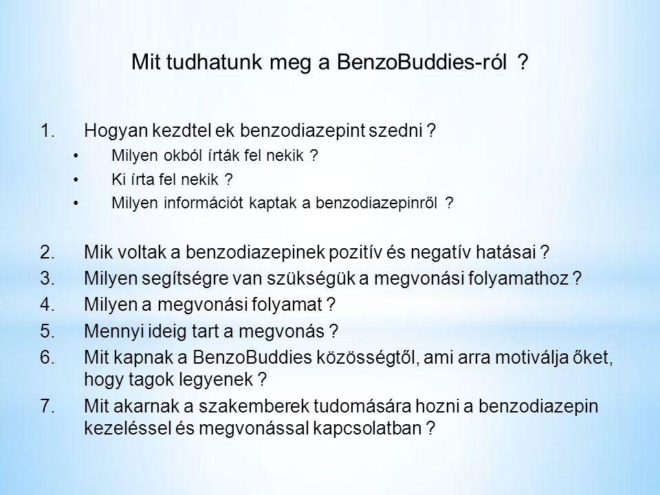 Mit tudhatunk meg a BenzoBuddies-ról