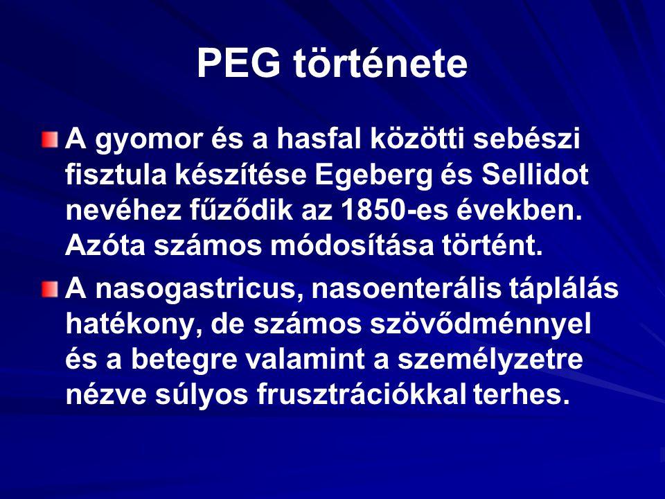 PEG története