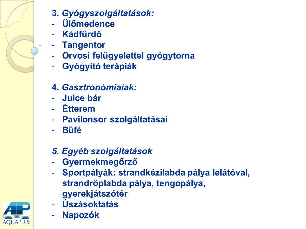 3. Gyógyszolgáltatások: