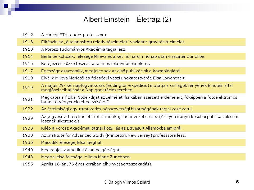 Albert Einstein – Életrajz (2)