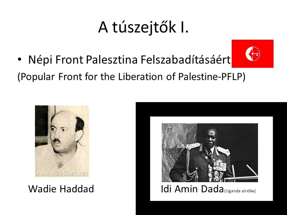 A túszejtők I. Népi Front Palesztina Felszabadításáért
