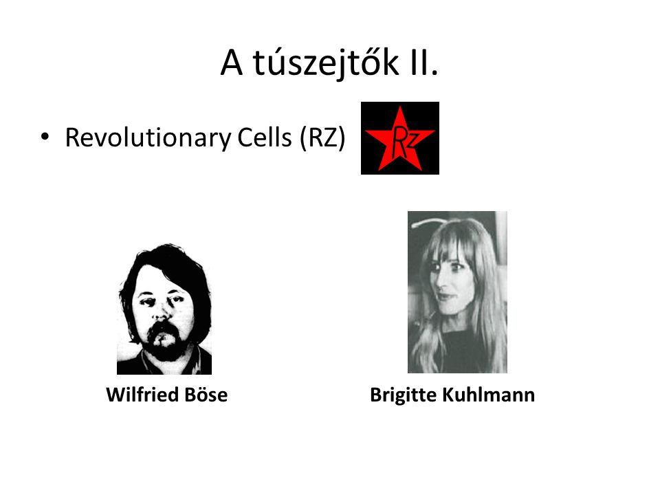 A túszejtők II. Revolutionary Cells (RZ)
