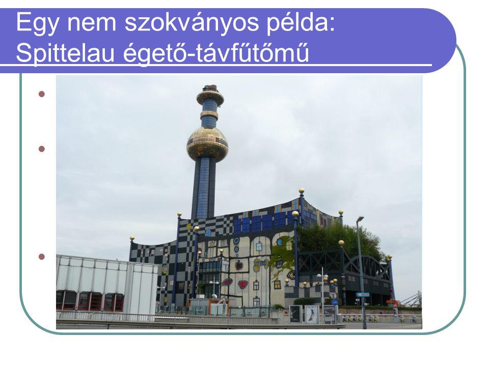 Egy nem szokványos példa: Spittelau égető-távfűtőmű