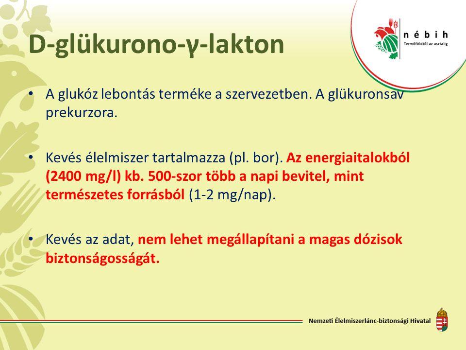 D-glükurono-γ-lakton