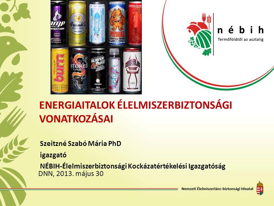 Energiaitalok élelmiszerbiztonsági vonatkozásai