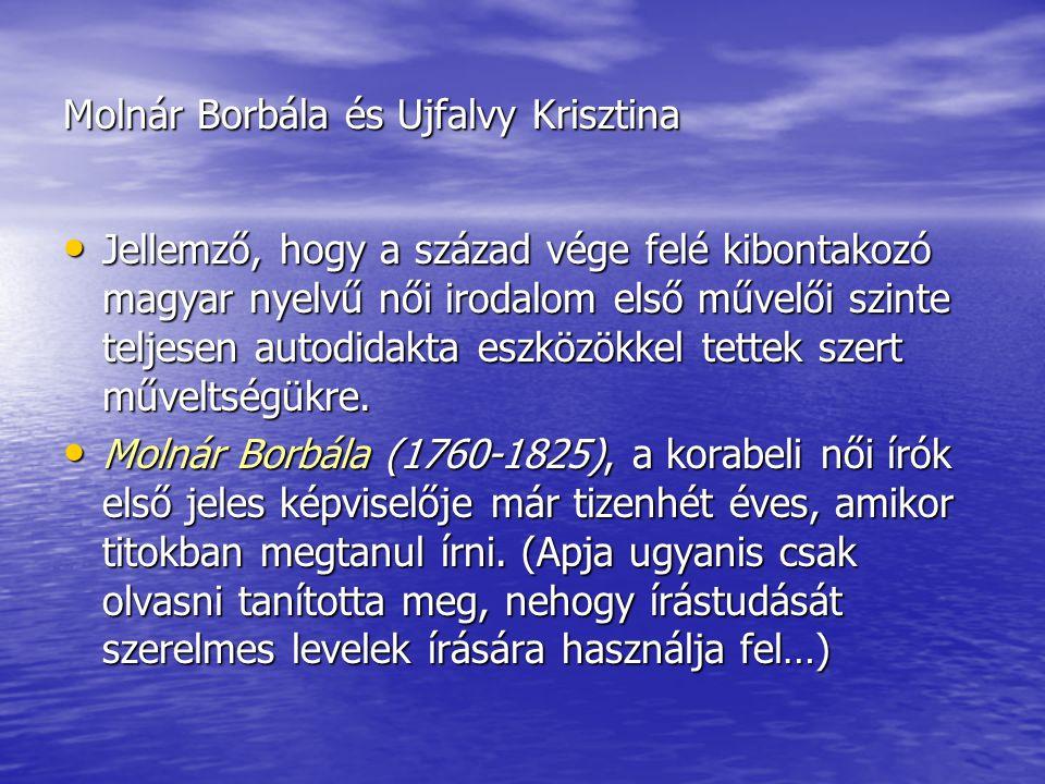 Molnár Borbála és Ujfalvy Krisztina