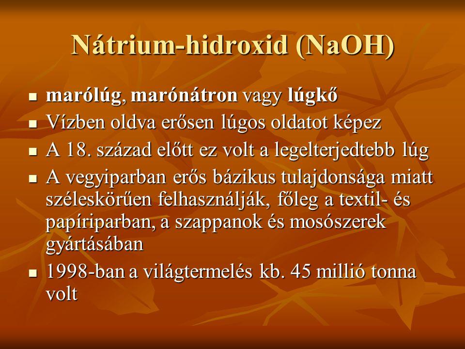 Nátrium-hidroxid (NaOH)