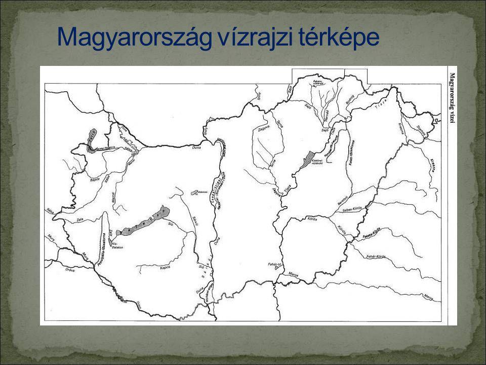 Magyarország vízrajzi térképe