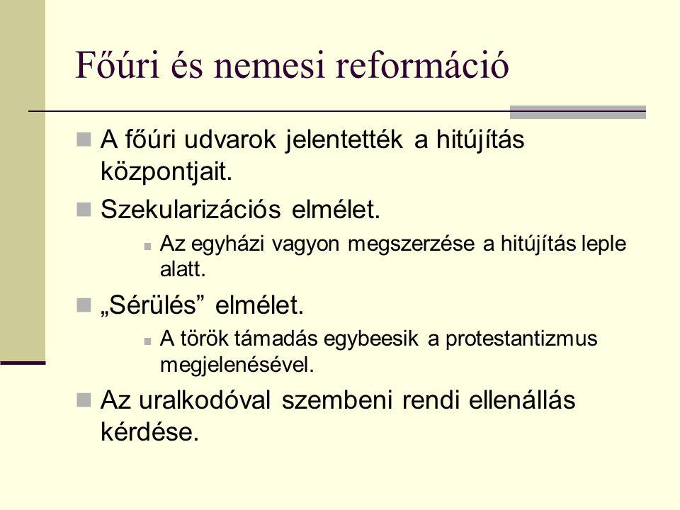 Főúri és nemesi reformáció