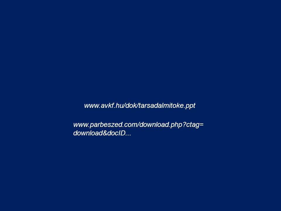 www.avkf.hu/dok/tarsadalmitoke.ppt www.parbeszed.com/download.php ctag=download&docID...