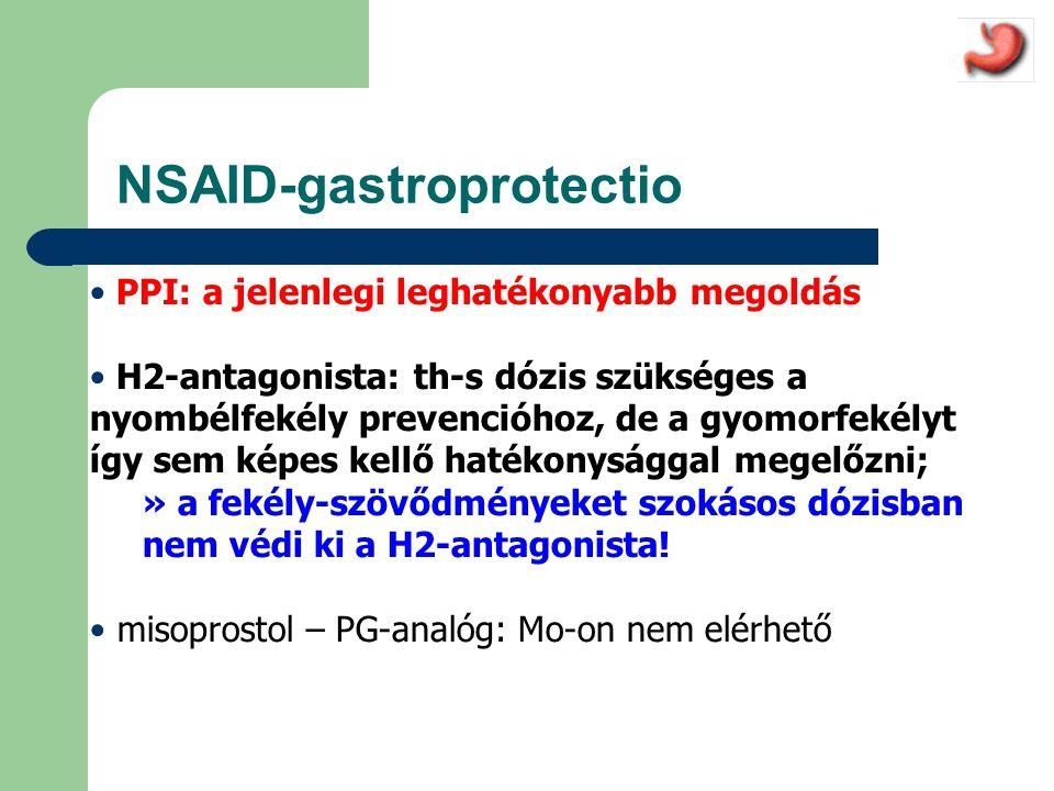 NSAID-gastroprotectio