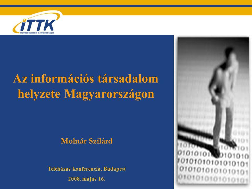Az információs társadalom helyzete Magyarországon