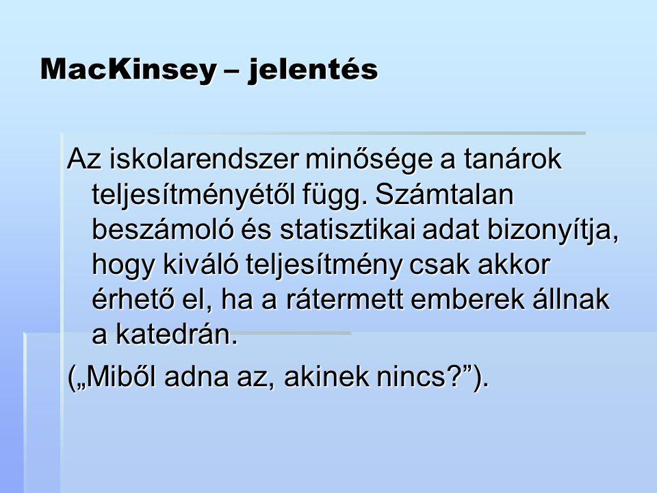 MacKinsey – jelentés